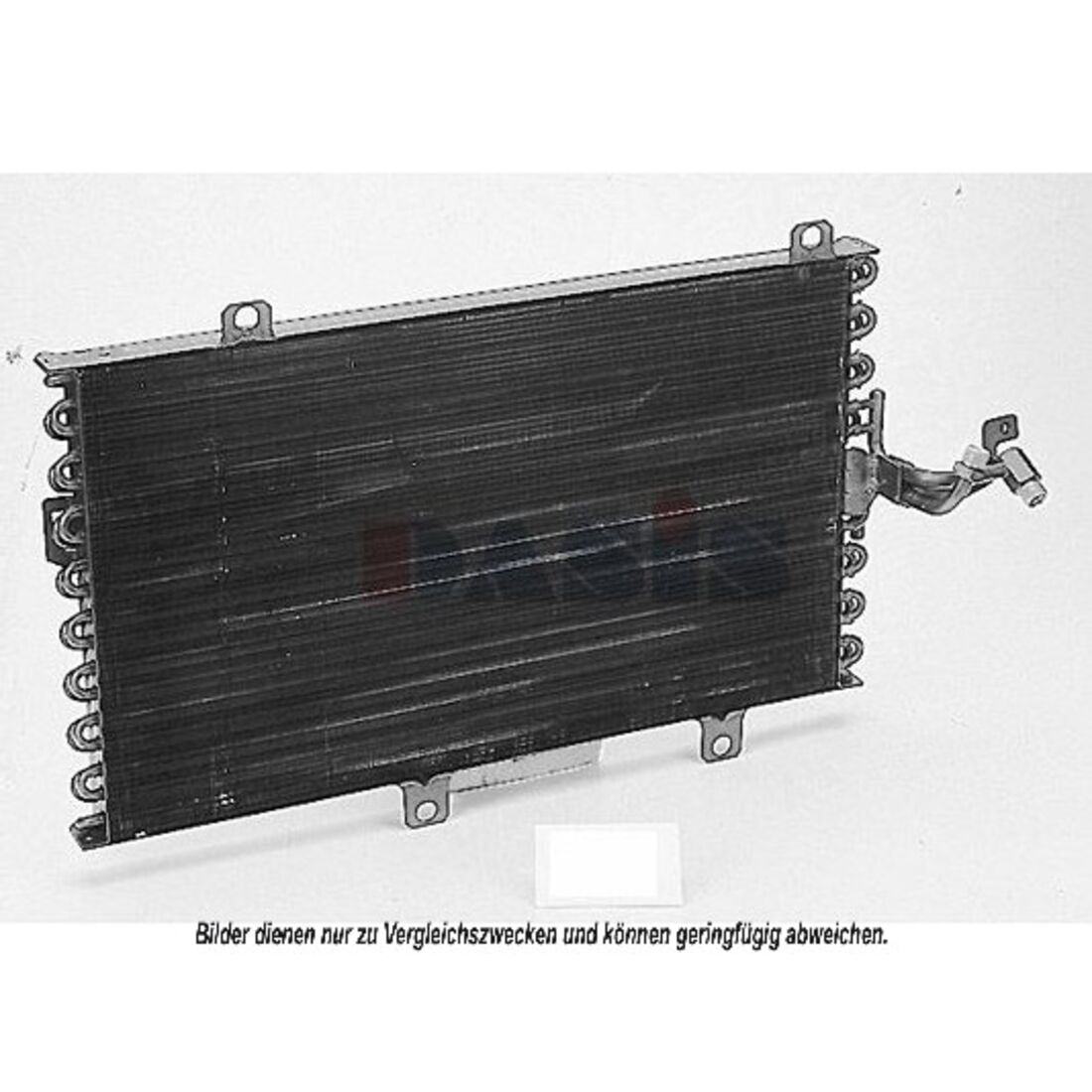 Kondensator, Klimaanlage -- AKS DASIS, FIAT, ALFA ROMEO, TIPO (160), ...