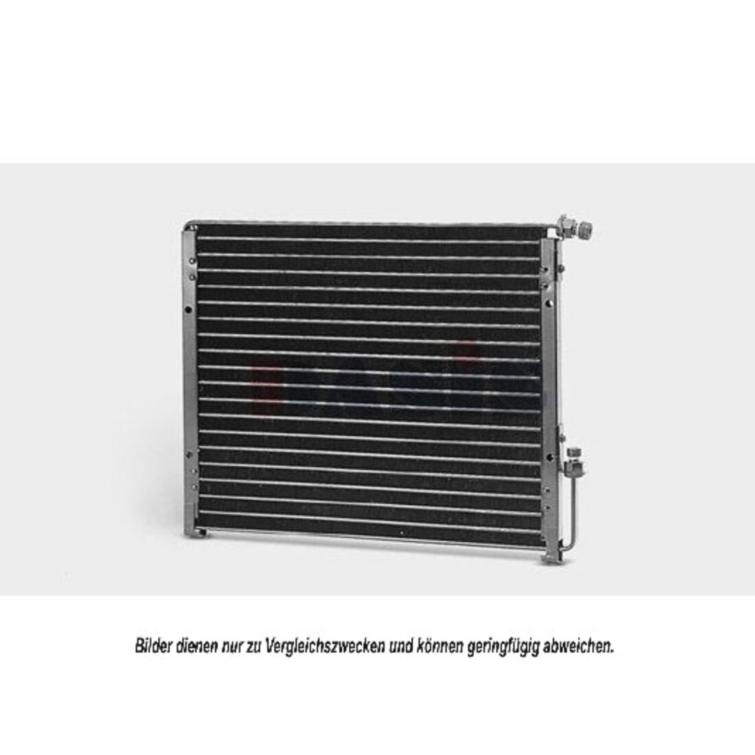 Kondensator, Klimaanlage -- AKS DASIS, ALFA ROMEO, 164 (164)...