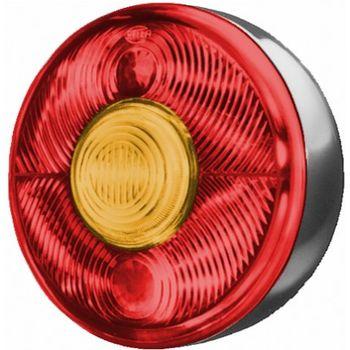 Lichtscheibe, Heckleuchte -- HELLA, Einbauseite: L, Einbauseite: R...