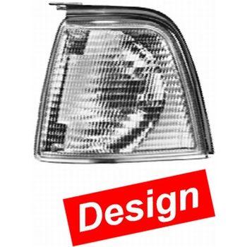 Blinkleuchte -- HELLA, AUDI, 80 (89, 89Q, 8A, B3), Einbauseite: L...