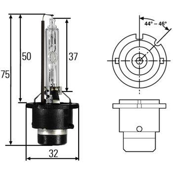 Glühlampe, Hauptscheinwerfer -- HELLA, Lampenart: 29...