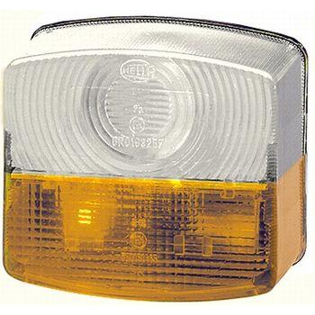 Lichtscheibe, Heckleuchte -- HELLA, Anzahl der Leuchtefunktionen: 2...