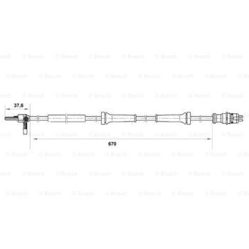 Hydraulikfilter, Lenkung -- BOSCH, MERCEDES-BENZ, PUCH, 190 (W201), ...