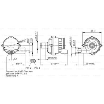 Wasserumwälzpumpe, Standheizung -- BOSCH, MERCEDES-BENZ, VW, A-KLASSE...
