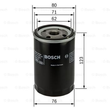 Ölfilter -- BOSCH, VW, AUDI, PORSCHE, WARTBURG, NSU, TRABANT, ...