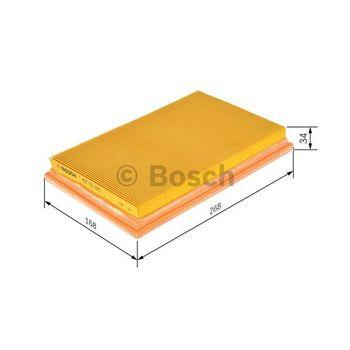 Luftfilter -- BOSCH, FORD, FIESTA IV (JA_, JB_), Filterausführung: 9...