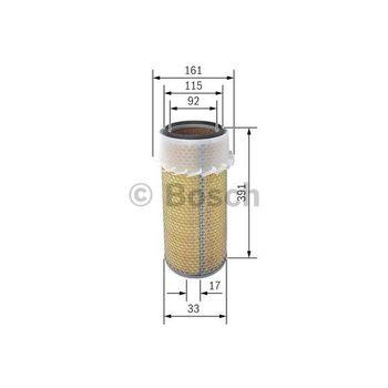 Luftfilter -- BOSCH, Filterausführung: 9, Durchmesser [mm]: 160...
