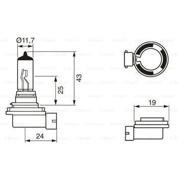 Glühlampe, Nebelscheinwerfer -- BOSCH, VW, MERCEDES-BENZ, FORD, ...