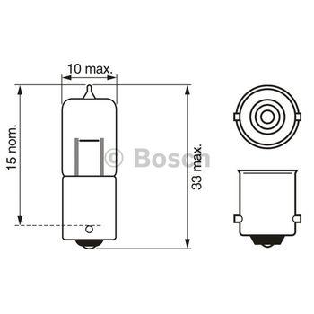 Glühlampe, Park-/Positionsleuchte -- BOSCH, BMW, 5 Touring (E39)...