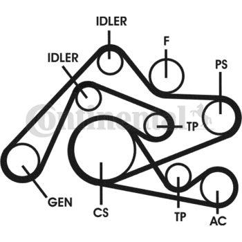 Keilrippenriemensatz -- CONTITECH, AUDI, A6 Avant (4B5, C5), A4 (8E5,...