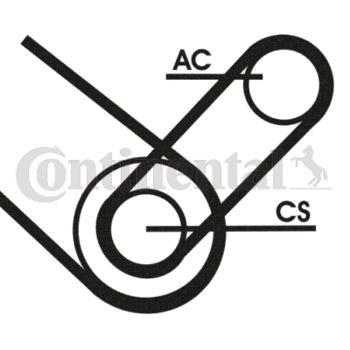 Keilrippenriemensatz -- CONTITECH, FIAT, DOBLO Großraumlimousine (223,...