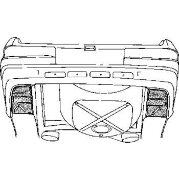 Karosserieboden, Koffer-/Laderaum -- VAN WEZEL, MERCEDES-BENZ, ...