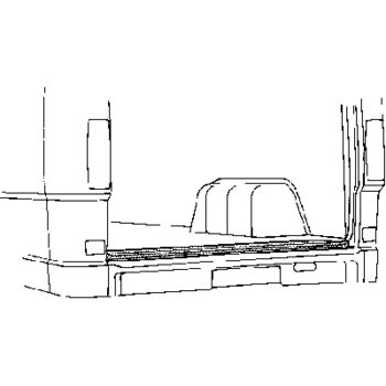Karosserieboden, Koffer-/Laderaum -- VAN WEZEL, MERCEDES-BENZ, T1...