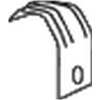 Halter, Abgasanlage -- BOSAL, MERCEDES-BENZ, 100 Kasten (631), ...