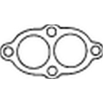 Dichtung, Abgasrohr -- BOSAL, BMW, 3 Compact (E36), Coupe