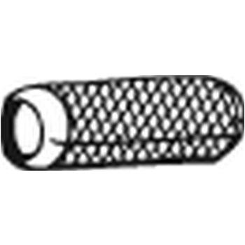 Rohrleitung universal mit flexiblem Mittelstück -- BOSAL, OPEL, ...