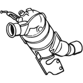 Ruß-/Partikelfilter, Abgasanlage -- BOSAL, BMW, 1 (E87)