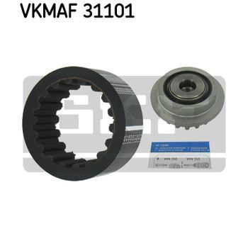 Flexible Kupplungsmuffe-Satz -- SKF, VW, MULTIVAN V (7HM, 7HN, 7HF,...