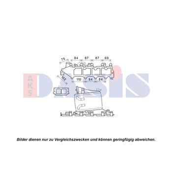 Ladeluftkühler -- AKS DASIS, VW, SKODA, AUDI, SEAT, GOLF VII (5G1,...