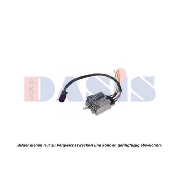 Steuergerät, Elektrolüfter (Motorkühlung) -- AKS DASIS, AUDI, A6 Avant...