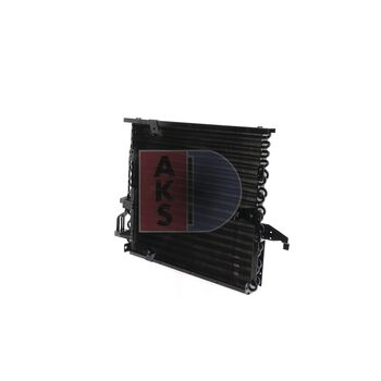 Kondensator, Klimaanlage -- AKS DASIS, BMW, 3 (E36), Coupe...