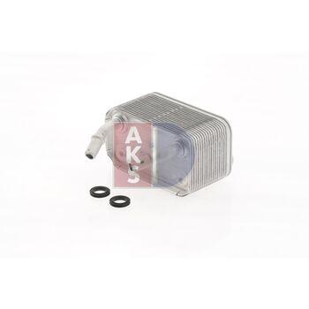 Ölkühler, Motoröl -- AKS DASIS, BMW, X5 (E53), Länge [mm]: 140...