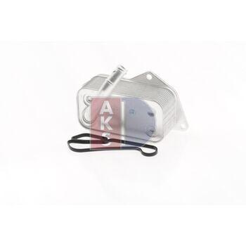 Ölkühler, Motoröl -- AKS DASIS, BMW, 3 (E90), 5 (E60), Z4 (E89), ...