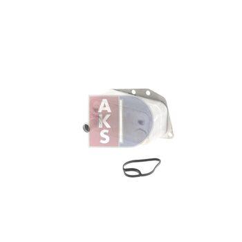 Ölkühler, Motoröl -- AKS DASIS, BMW, 3 Touring (E46), (E91), 1 (E87),...