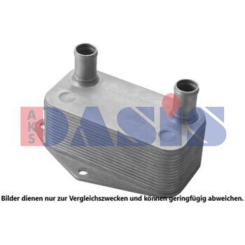 Ölkühler, Motoröl -- AKS DASIS, BMW, 3 (E46), Material: 1, Neuteil: