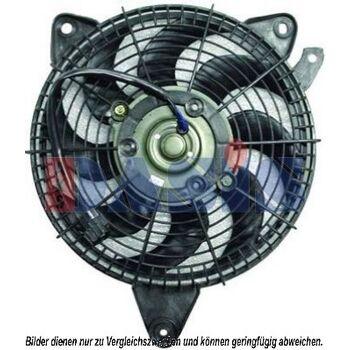 Lüfter, Klimakondensator -- AKS DASIS, Heizung/Kühlung: 85...