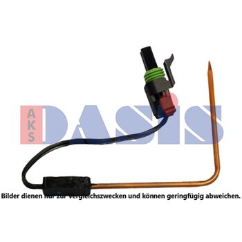 Sensor, Innenraumtemperatur -- AKS DASIS, Pol-Anzahl: 2...