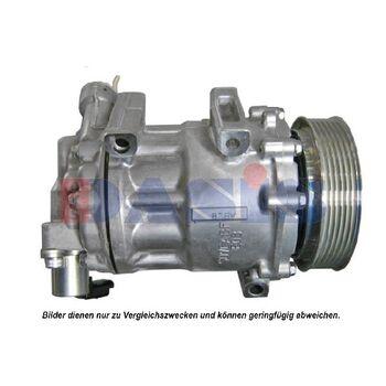 Kompressor, Klimaanlage -- AKS DASIS, PEUGEOT, CITROËN, 407 SW (6E_), ...