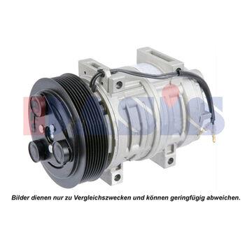 Kompressor, Klimaanlage -- AKS DASIS, Gewicht [g]: 7500, Neuteil: