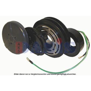 Magnetkupplung, Klimakompressor -- AKS DASIS, Spannung [V]: 24...