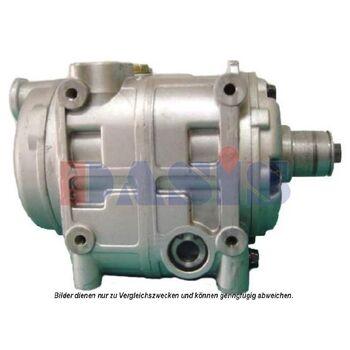 Kompressor, Klimaanlage -- AKS DASIS, Ausstattungsvariante: ohne Kupplung...