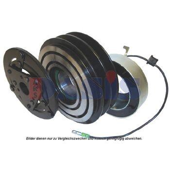 Magnetkupplung, Klimakompressor -- AKS DASIS, Spannung [V]: 12...