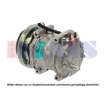 Kompressor, Klimaanlage -- AKS DASIS, Anschlusstechnik: Pad...