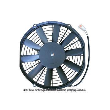 Lüfter, Klimakondensator -- AKS DASIS, Spannung [V]: 12...
