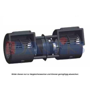 Innenraumgebläse -- AKS DASIS, Ausstattungsvariante: Auslass: 55x 113,5mm...