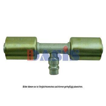 Schlauchverbinder -- AKS DASIS, Lage/Grad: 180, Gewicht [g]: 100...