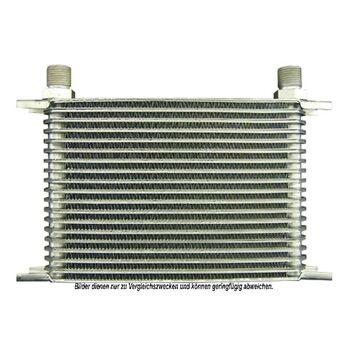 Ölkühler, Motoröl -- AKS DASIS, Netzmaße: 255x145x50, Länge [mm]: 255...