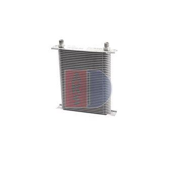 Ölkühler, Motoröl -- AKS DASIS, Einbaubreite [mm]: 280, Länge [mm]: 185...