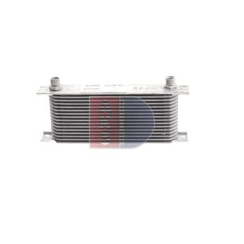 Ölkühler, Motoröl -- AKS DASIS, Netzmaße: 330x125x50, Länge [mm]: 330...