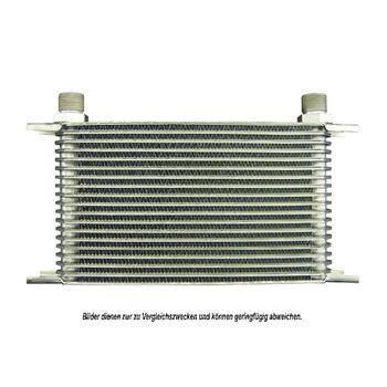 Ölkühler, Motoröl -- AKS DASIS, Netzmaße: 330x145x50, Länge [mm]: 330...