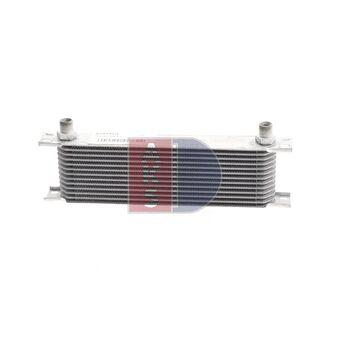 Ölkühler, Motoröl -- AKS DASIS, Netzmaße: 380x100x50, Länge [mm]: 380...