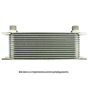 Ölkühler, Motoröl -- AKS DASIS, Einbaubreite [mm]: 405, Länge [mm]: 310...