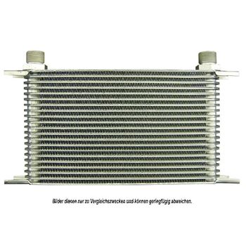 Ölkühler, Motoröl -- AKS DASIS, Netzmaße: 405x160x50, Länge [mm]: 405...