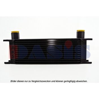 Ölkühler, Motoröl -- AKS DASIS, Netzmaße: 330x98x50, Länge [mm]: 330...