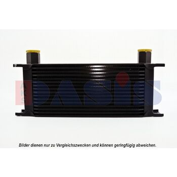 Ölkühler, Motoröl -- AKS DASIS, Netzmaße: 330x120x50, Länge [mm]: 330...