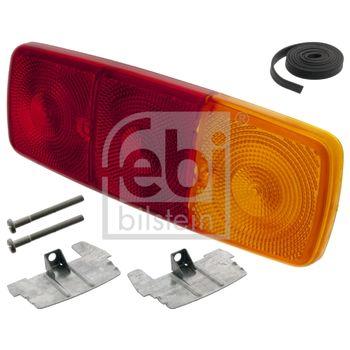 Lichtscheibe, Heckleuchte -- FEBI, Einbauseite: R, Einbauseite: L...